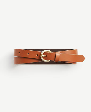 Medium Leather Trouser Belt
