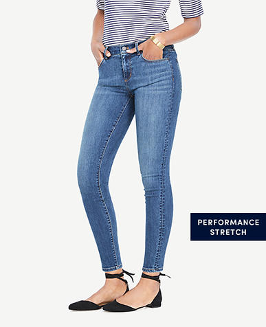 Petite Curvy All Day Skinny Jeans in Rocky Coast Wash