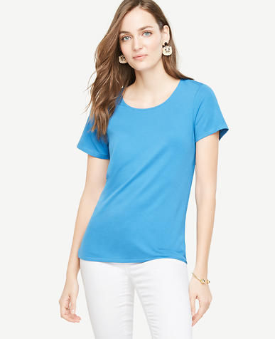 Image of OE Tie Back Tee-M