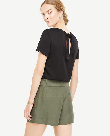 Image of Tie Back Tee