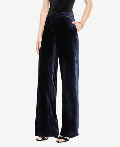 Velvet Smoking Pants