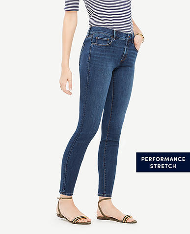 Tall Curvy All Day Skinny Jeans in Mariner Wash