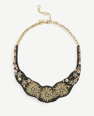 Stellar Fabric Statement Necklace