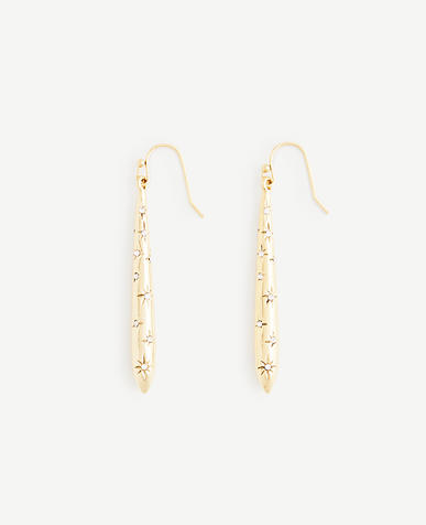 Stellar Linear Drop Earrings