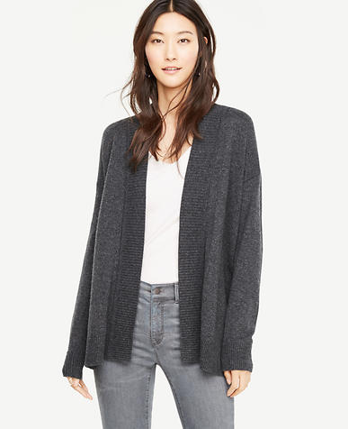 Image of Petite Cross Back Open Cardigan