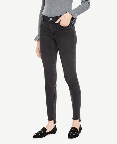 Step Hem All Day Skinny Jeans in Sienna Wash