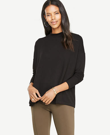 Petite Relaxed Turtleneck