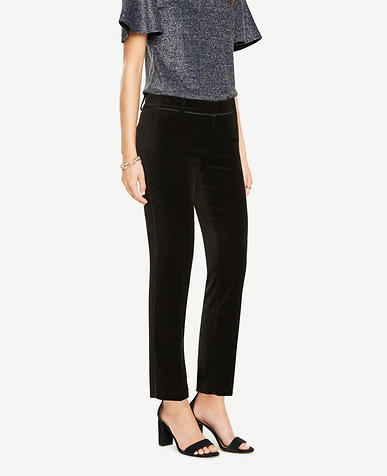 The Ankle Pant In Velvet