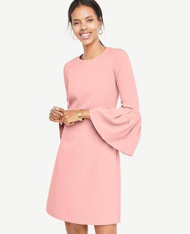 Tall Bell Sleeve Flare Dress