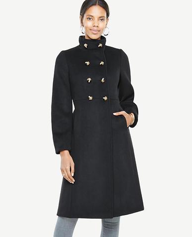 Petite Bell Sleeve Coat