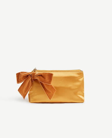 Satin Cosmetic Pouch