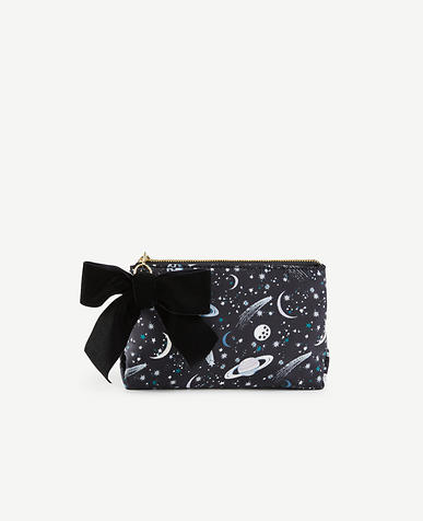 Celestial Print Cosmetic Pouch