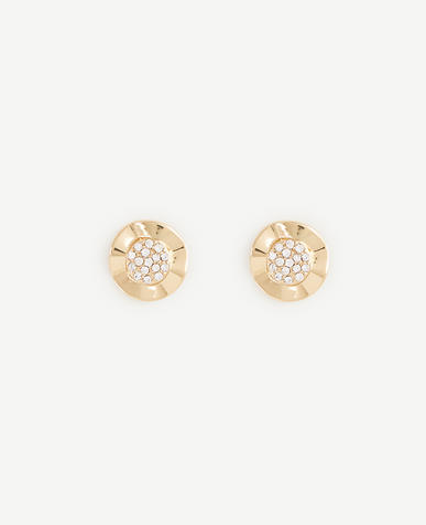 Image of Modern Pave Earrings