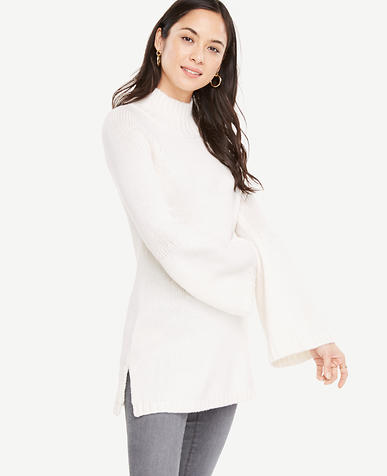 Bell Sleeve Tunic Sweater