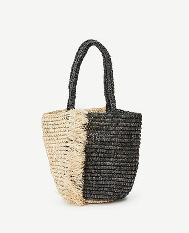 Fringe Straw Bag