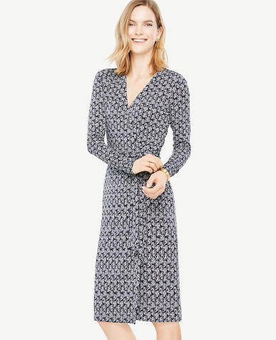 Petite Vine Wrap Dress