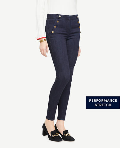 Sailor All Day Skinny Jeans In Evening Sea Wash