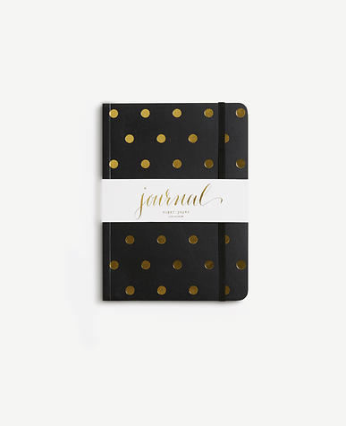 Sugar Paper Polka Dot Journal