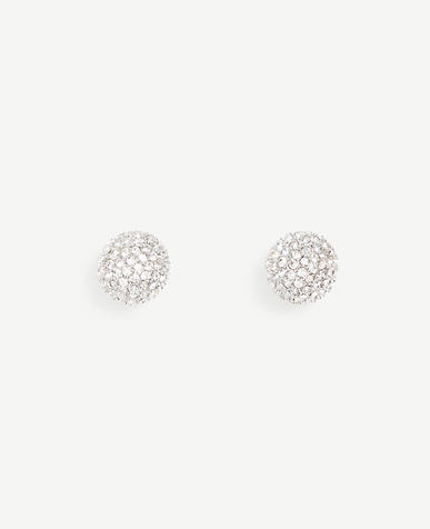 Pave Statement Stud Earrings