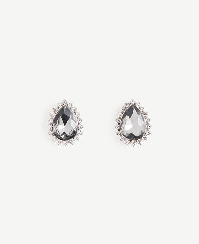Teardrop Statement Stud Earrings