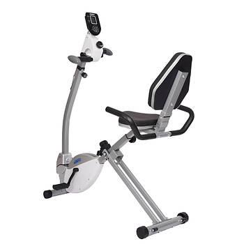 Stamina Recumbent Exercise Bike with Upper-Body Exerciser