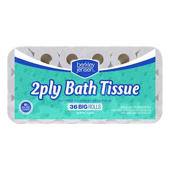 Berkley Jensen Big Roll 352-Sheet 2-Ply Premium Bath Tissue, 36 pk.