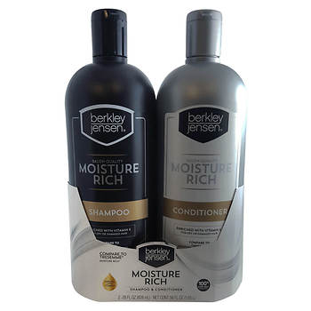 Berkley Jensen Moisture Rich Shampoo and Conditioner, 2 pk./28 oz.