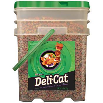 Purina Deli-Cat Cat Food, 14 lbs.