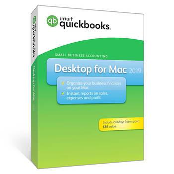 Intuit QuickBooks Desktop for Mac 2019