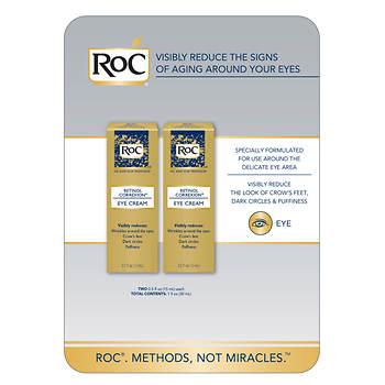 RoC RETINOL CORREXION Eye Cream, 2 pk./0.5 oz.