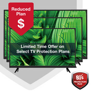 BJ's Protection Plus 3-Year Service or Replacement Plans for Televisions, $0-74.99