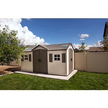 Lifetime 15 X 8 Dual Entry Shed Bj S Wholesale Club