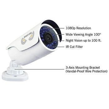 Night Owl 8 Channel 4 Camera 1080p Smart Security System