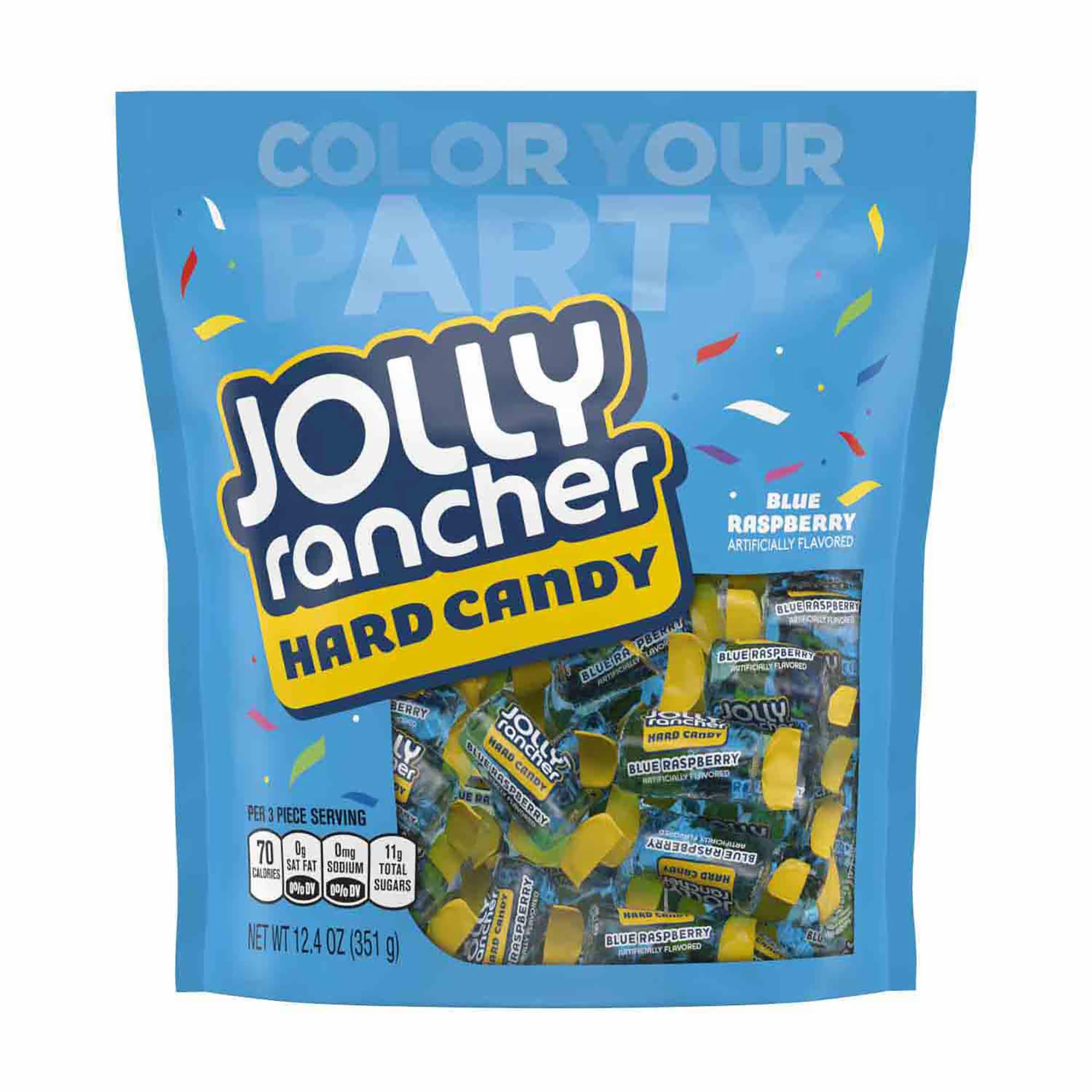 Jolly Rancher Blue Raspberry Hard Candy, 4 pk./12.4 oz. - BJs ...