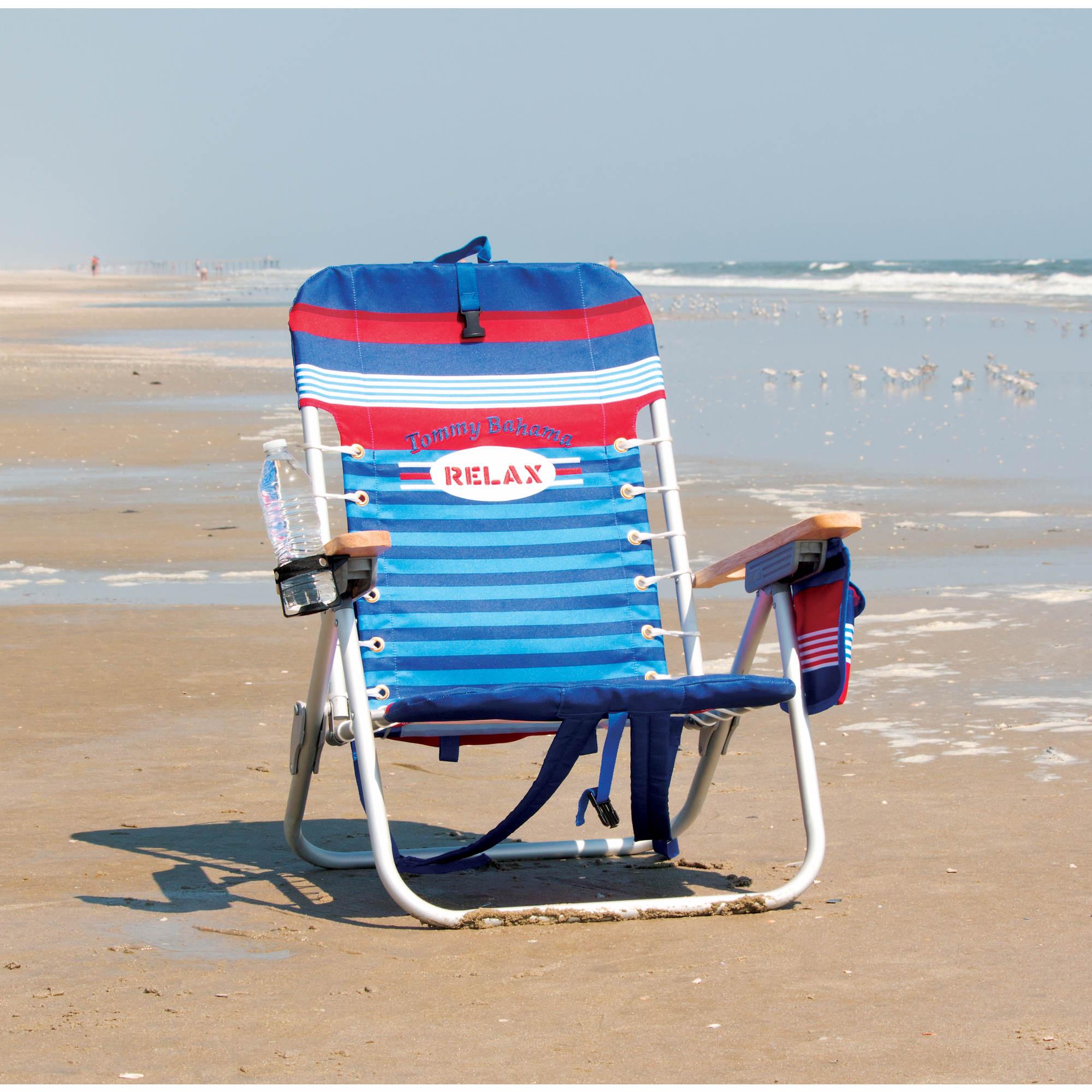 Tommy Bahama Backpack Beach Chair Blue 0