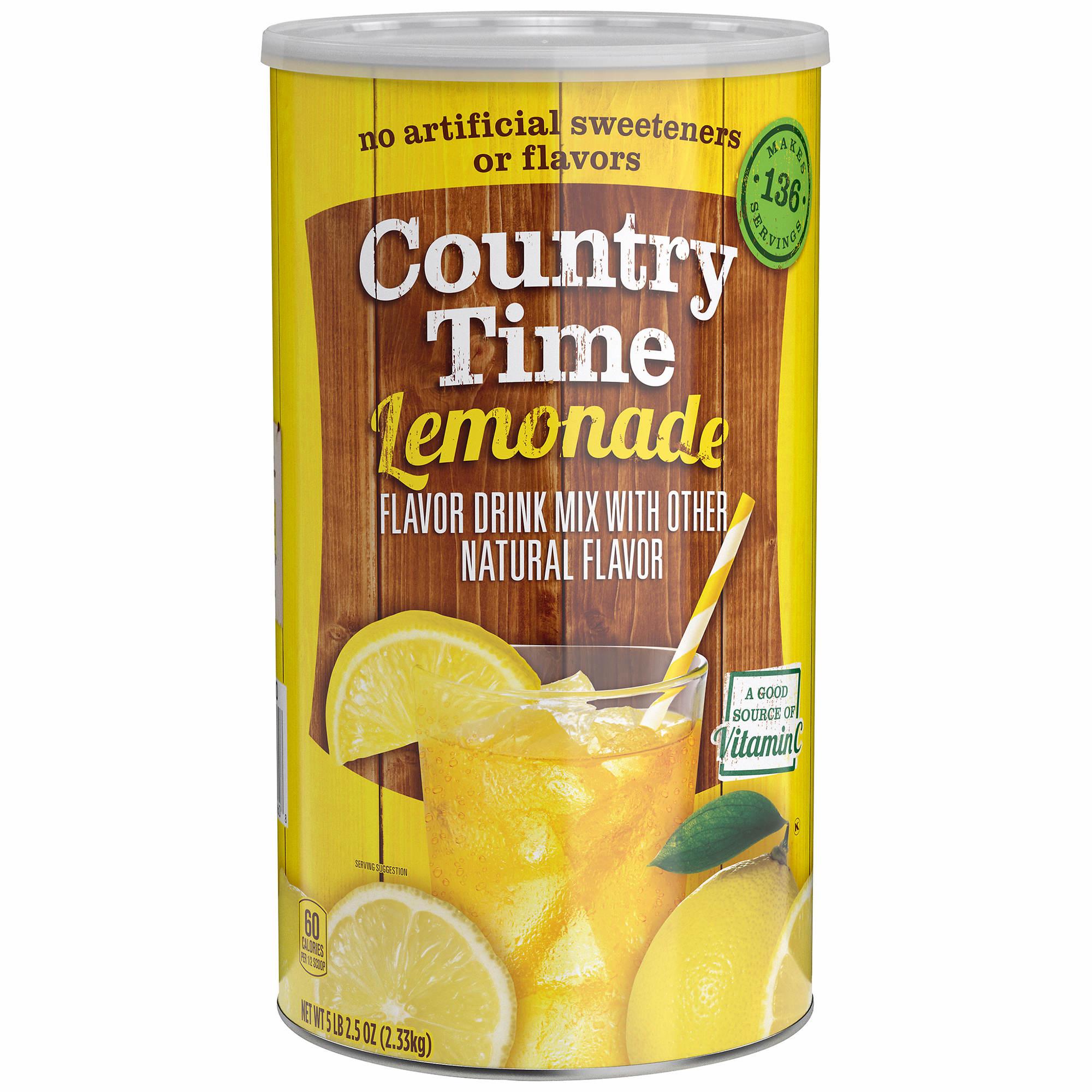 Country Time Lemonade Drink Mix 825 Oz Bjs Wholesale Club