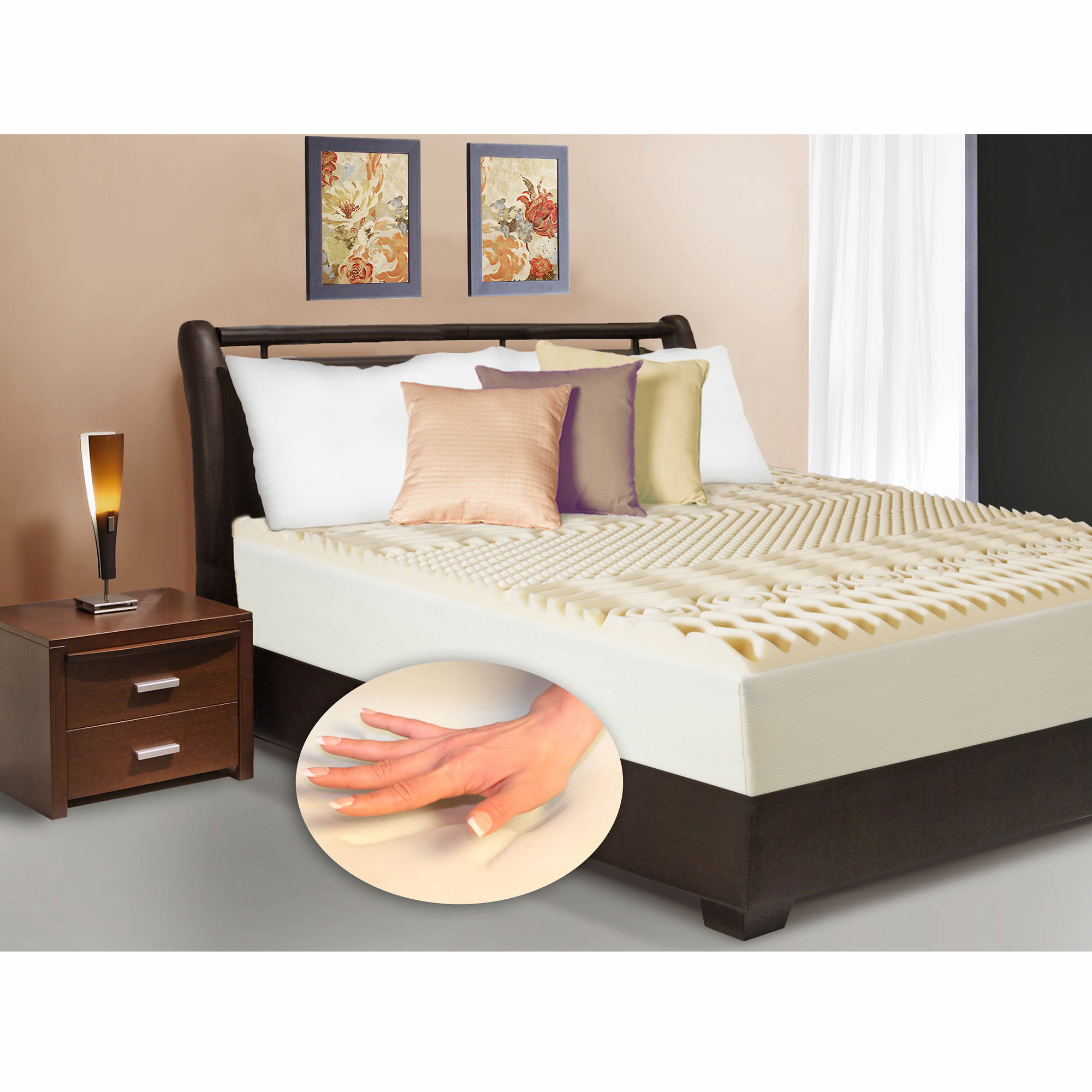 ventilated with choice removable reviews in mattress memory inch bamboo foam cover warranty lucid cooling review gel infused best size full queen year topper