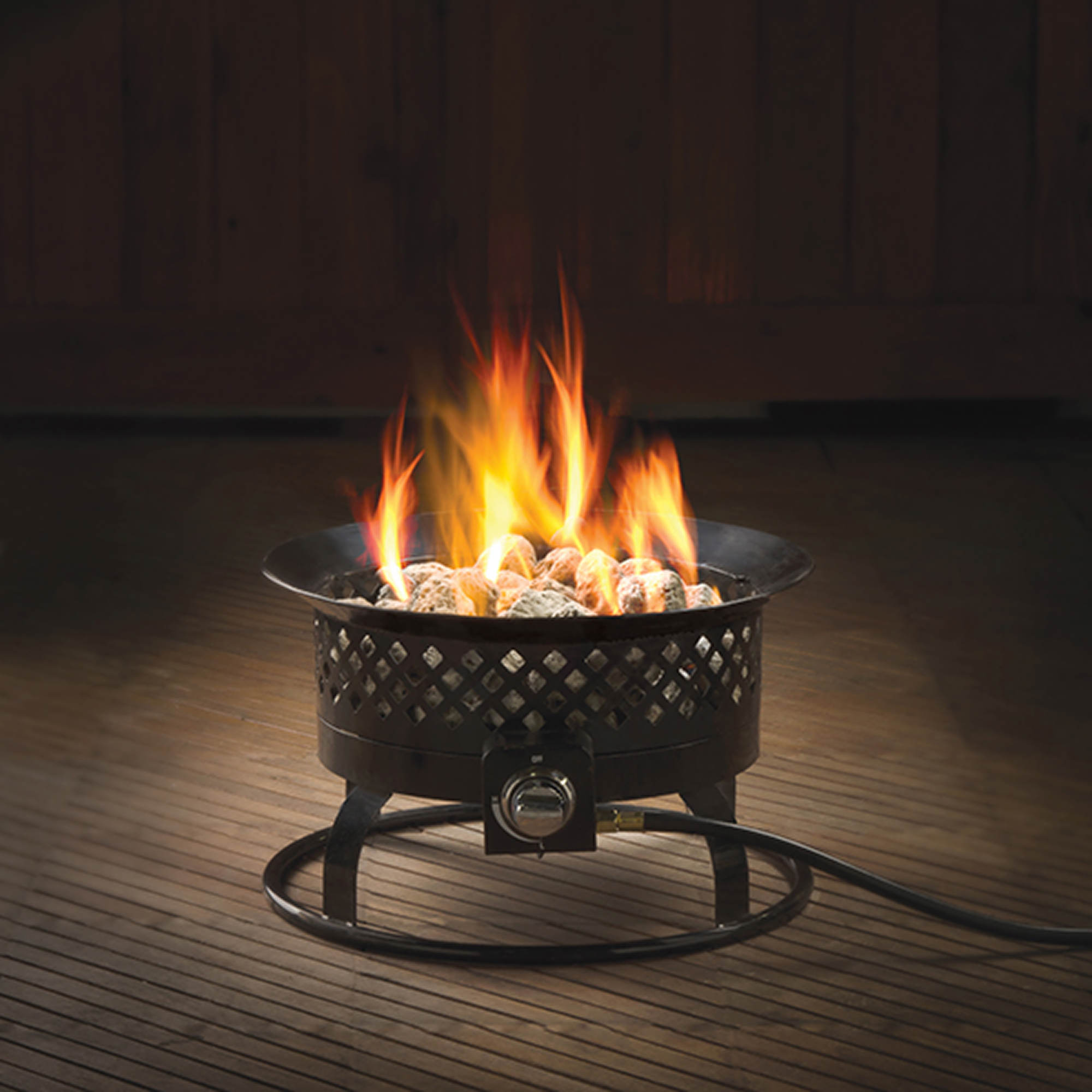 "Bond Aurora 66603 18.5"" Portable Gas Steel Fire Bowl"