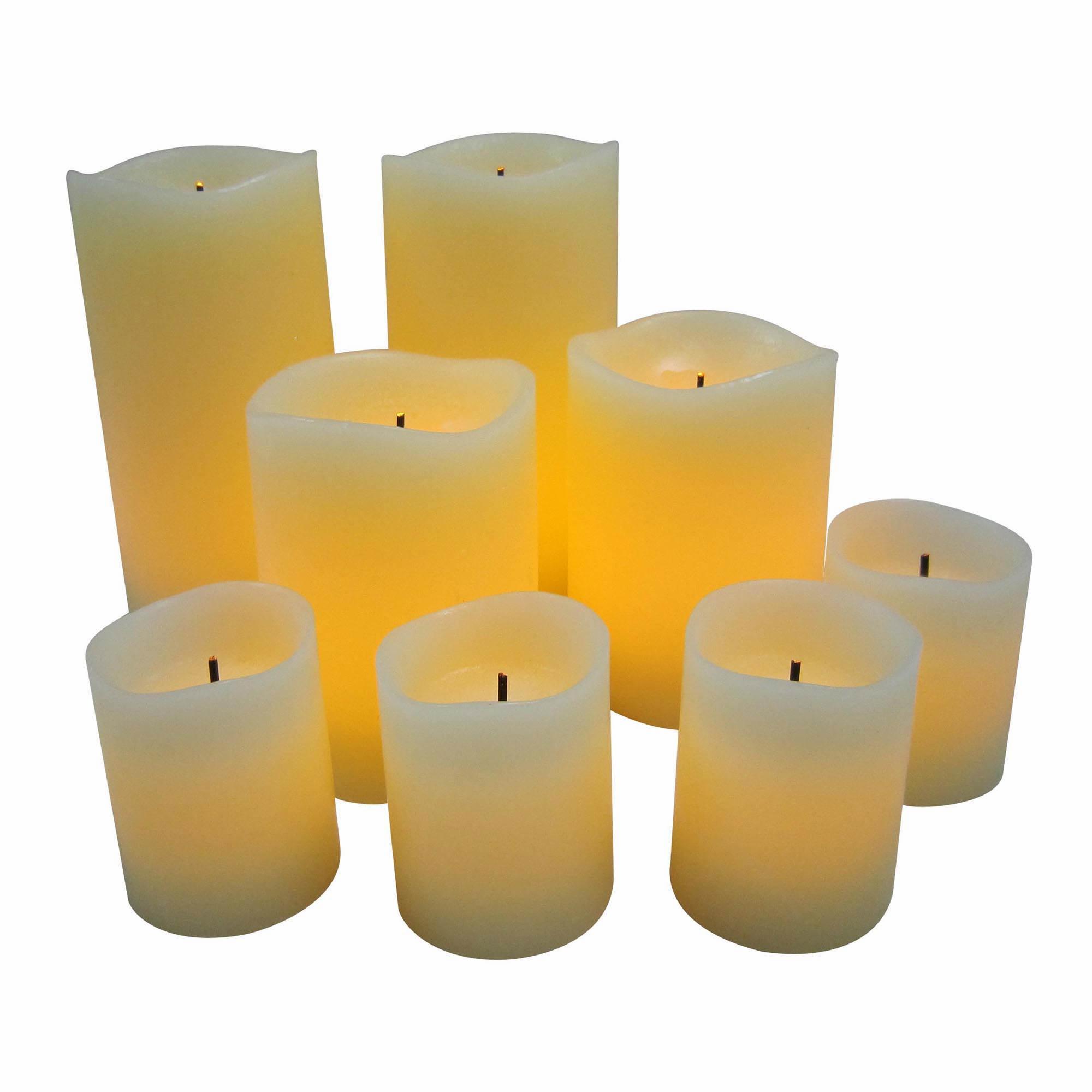 Veraflame 8pk Flameless Candle Set