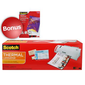 Scotch Thermal Laminator With Led Display With Bonus 8 1 2