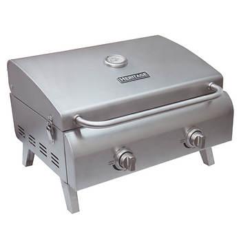 heritage portable 2 burner gas grill bj 39 s wholesale club. Black Bedroom Furniture Sets. Home Design Ideas