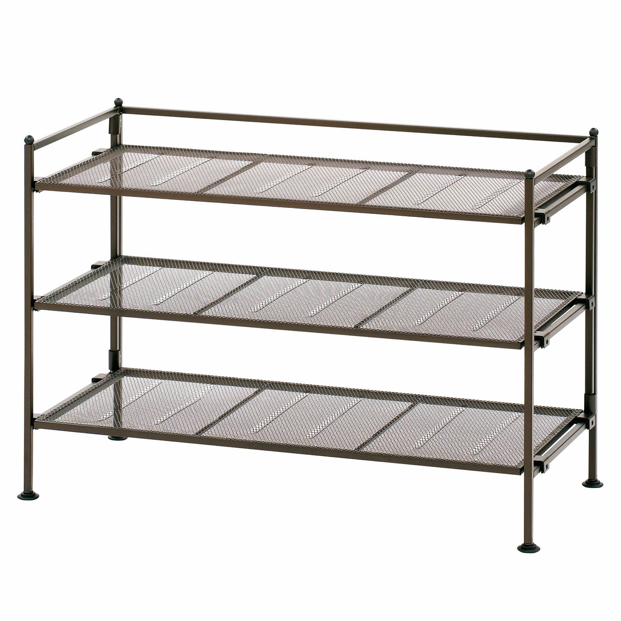 ... 3-Tier Utility and Shoe Rack - Bronze. 0 undefined; 1 undefined