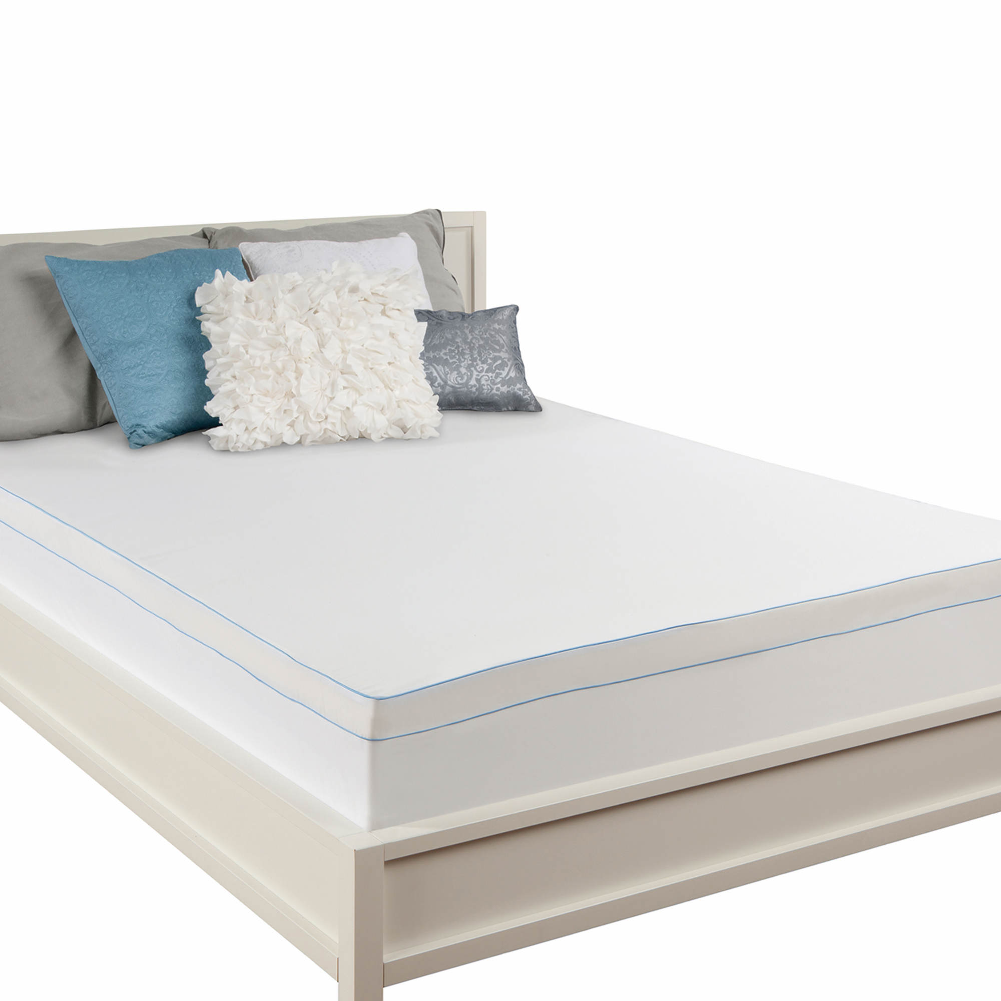 wayfair king inch luxury unique memory gel elegant foam airflow quilted of select size mattress