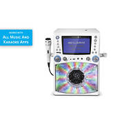 Singing Machine Bluetooth Karaoke System with Lights