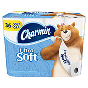 Charmin Ultra Soft 173-Sheet 2-Ply Toilet Paper, 36 pk.