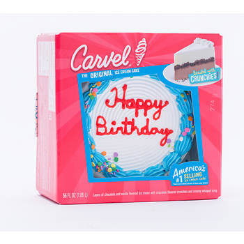 Carvel Ice Cream Birthday Cake 56 Fl Oz