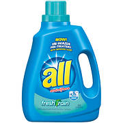 all with Stainlifters Fresh Rain Liquid Laundry Detergent, 100 fl. oz.