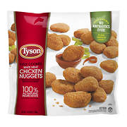 Tyson Fully Cooked White Meat Chicken Nuggets, 5 lbs.