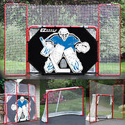 EZ Goal 10' x 6' Complete Hockey Trainer