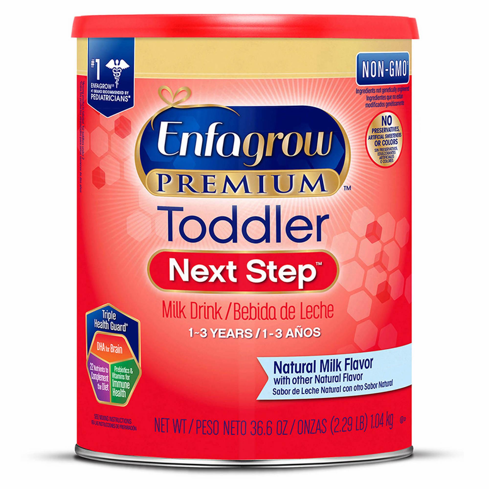 Enfagrow Premium Toddler Next Step Milk Drink, 36.6 oz.